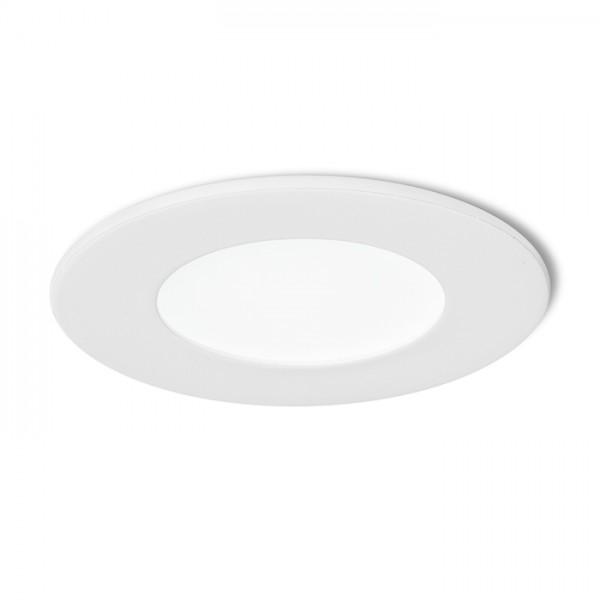 RENDL recessed light SLENDER R 8 recessed white 230V LED 3W 3000K R10559 1