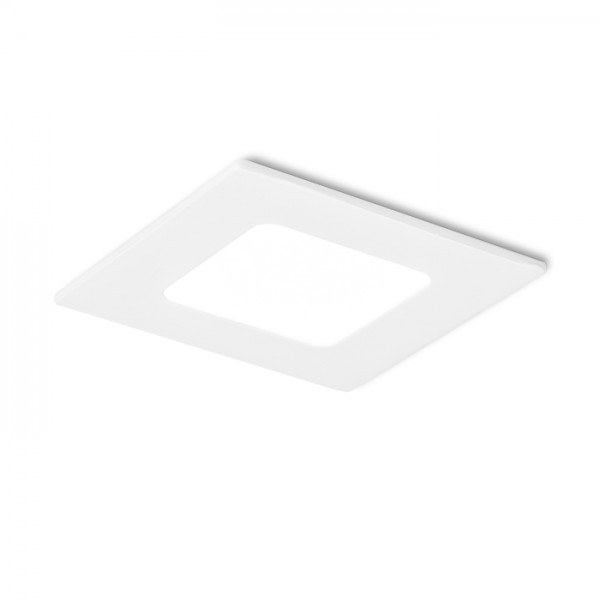 RENDL verzonken lamp SLENDER SQ 8 inbouwlamp wit 230V LED 3W 3000K R10560 1