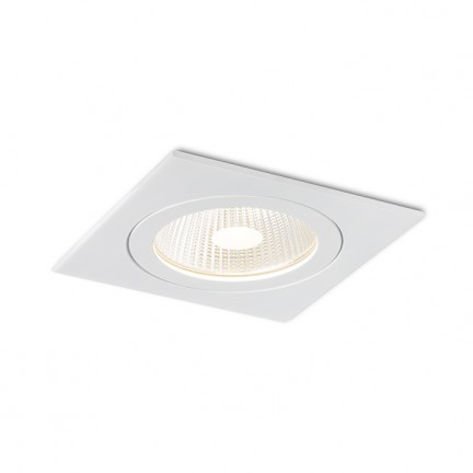 RENDL recessed light AMIGA SQ DIMM white 230V LED 8W 40° IP65 3000K R10566 1
