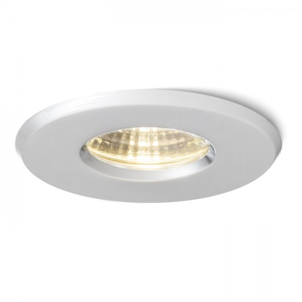 RENDL recessed light MERGO R recessed chrome 230V LED 6.5W IP44 3000K R10572 1