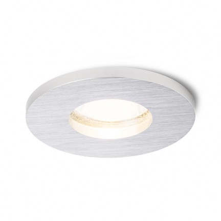 RENDL recessed light ASTOR R brushed aluminium 230V GU10 50W IP65 R10573 1