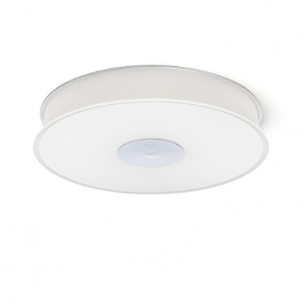 RENDL luminaire encastrable ASTERI plafond verre satiné/chrome 230V 2GX13 40W R10577 1