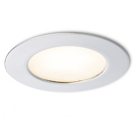 RENDL luminaire plafond INEZ R chrome 12= LED 3W IP44 3000K R10586 1