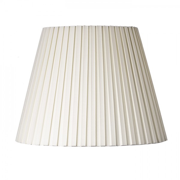 RENDL shades and accessories, bases, pendent sets COCTAIL pendant shade cream white pleated max. 60W R10589 1