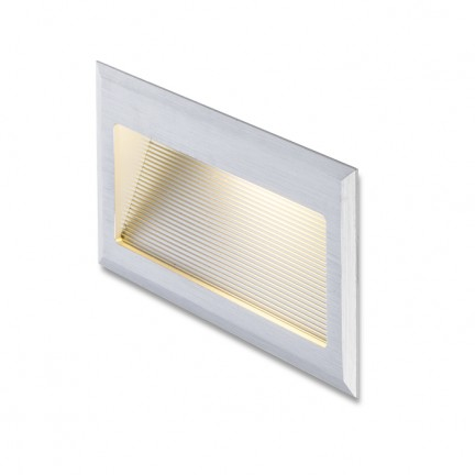 RENDL recessed light INTRO L brushed aluminium 350mA LED 3W 3000K R10598 1