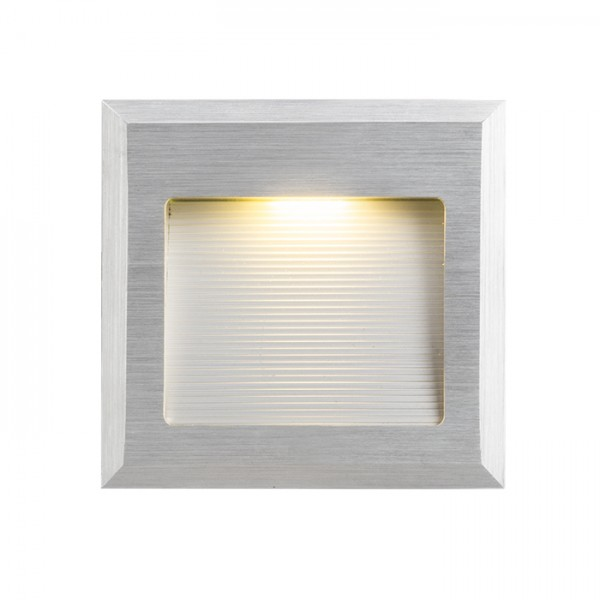 RENDL recessed light INTRO M brushed aluminum 350mA LED 1W 3000K R10606 1