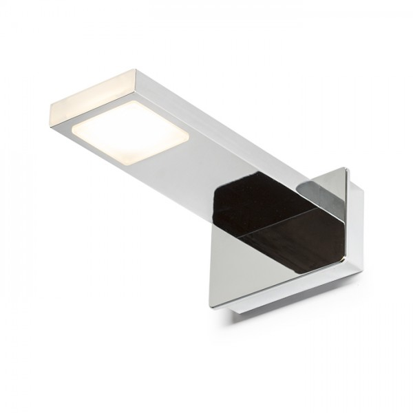 RENDL lámpara de pared PARAGNA de pared cromo 230V LED 5.7W IP44 3000K R10612 1