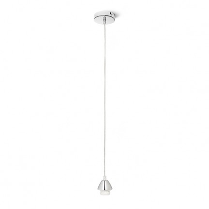 RENDL shades and accessories, bases, pendent sets ENZO pendent set chrome 230V E27 42W R10616 1
