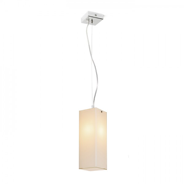 RENDL pendent LUCIA 30x10 pendant satinated glass/chrome 230V E27 42W R10627 1