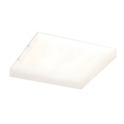 RENDL luminaire encastrable STRUCTURAL 55x55 montage en surface verre satiné 230V 2G11 3x36W R10632 1