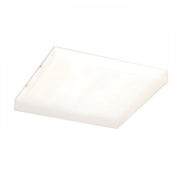 RENDL surface mounted lamp STRUCTURAL 55x55 surface mounted satinated glass 230V 2G11 3x36W R10632 1