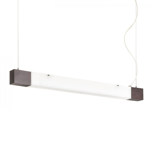 RENDL függő lámpatest FARGO függeszték fekete szatén üveg 230V G5 24W R10634 1