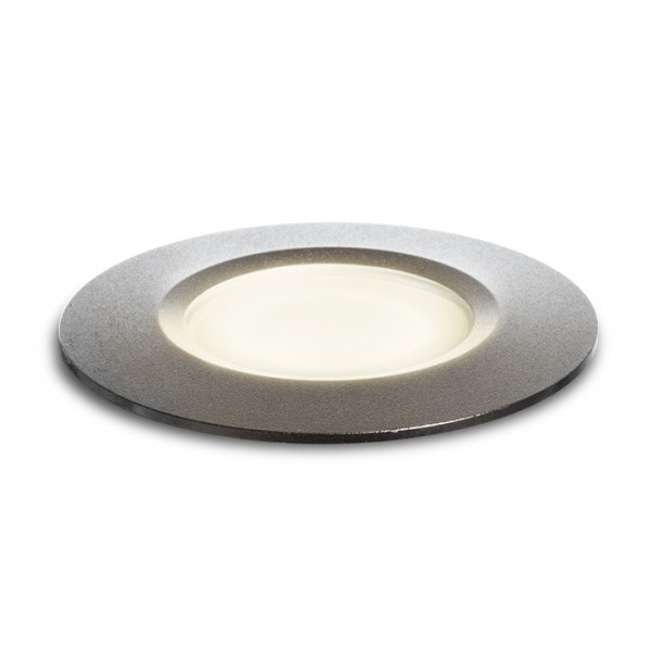 RENDL outdoor lamp BUCO recessed black 230V LED 3W IP65 3000K R10635 1