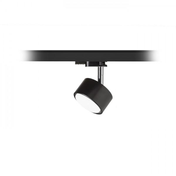 PIXIE pre trojokruh. lištu čierna chróm 230V LED GX53 7W