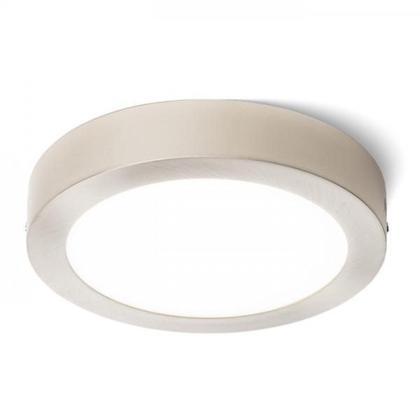 RENDL surface mounted lamp SLENDER R 22 surface mounted matt nickel 230V LED 18W 3000K R11282 1