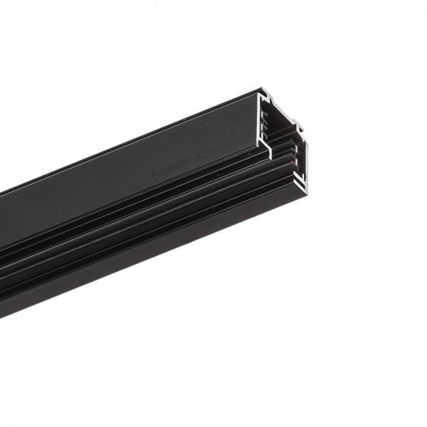 EUTRAC 2m trojokruhová lišta čierna  230V