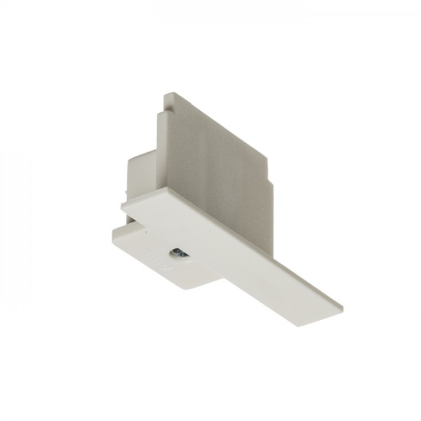 RENDL Track lights, LED strips and system lighting EUTRAC end cap for recessed 3-circuit track white R11310 1