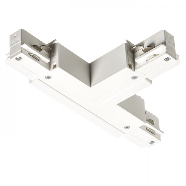 RENDL Track lights, LED strips and system lighting EUTRAC T connector, polarity left white 230V R11335 1