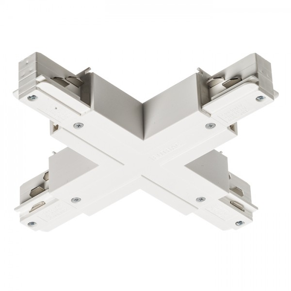 RENDL Track lights, LED strips and system lighting EUTRAC X connector white 230V R11338 1
