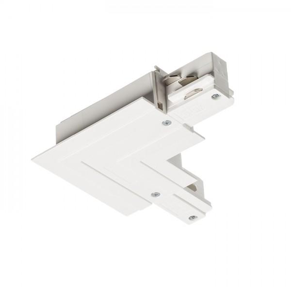RENDL LED trake i sistemi EUTRAC L vanjski konektor za ugradnu šinu bijela 230V R11344 1