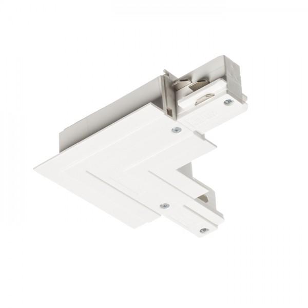 RENDL LED-bånd og systemer EUTRAC L tilslutning (jord indre) for indbygget 3-faset skinne hvid 230V R11345 1