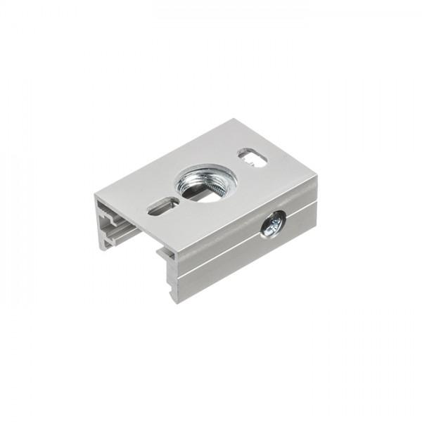EUTRAC závesný adaptér pre trojokruh. lištu striebornosivá
