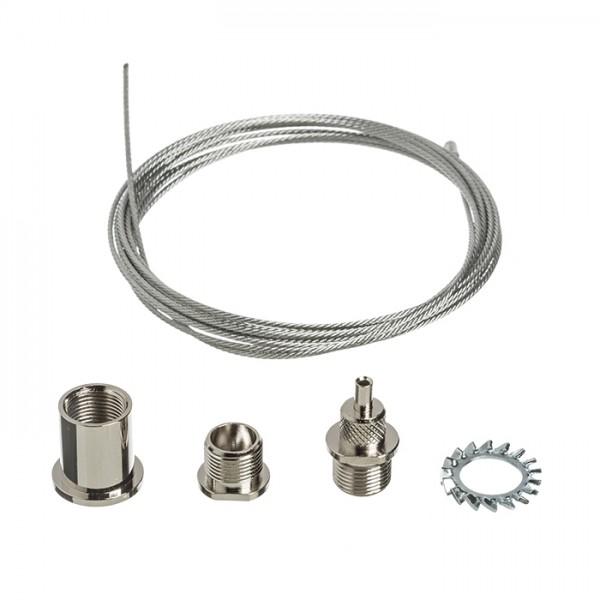RENDL LED sínek és rendszerek EUTRAC 3m huzalos függesztő R11359 1