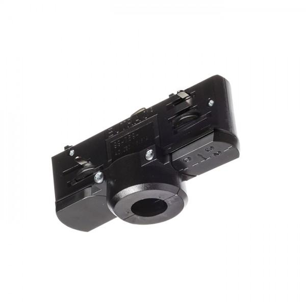 EUTRAC adaptér pre trojokruh. lištu čierna  230V