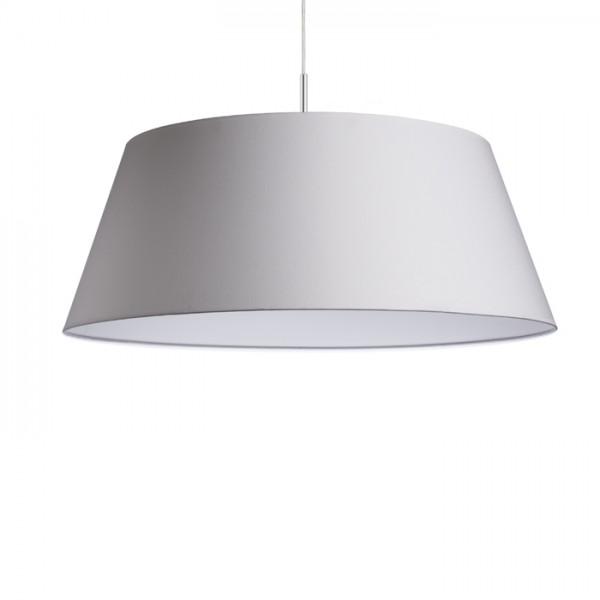 RENDL colgante KARO 80/30 sombra polialgodón blanco/PVC blanco max. 23W R11378 1