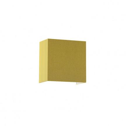 RENDL væglampe LOPE W 25/14 væg chintz olivengrøn/sølvfolie 230V E27 28W R11381 1