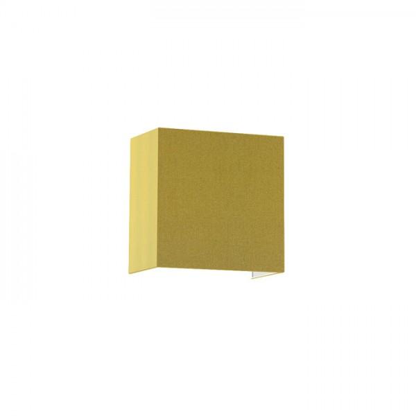 RENDL lámpara de pared LOPE W 25/14 de pared aceituna de Chintz/hoja de plata 230V E27 28W R11381 1