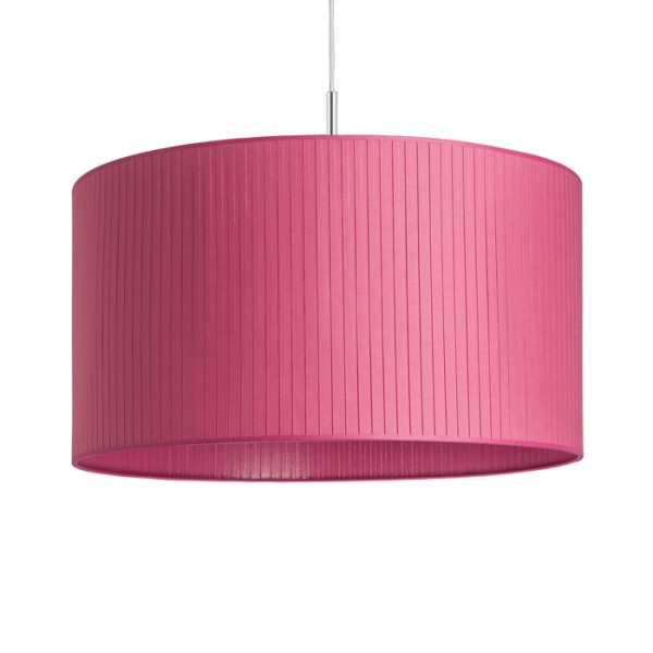 RENDL shades for lamps RON 55/30 shade Pleated pink max. 23W R11453 1