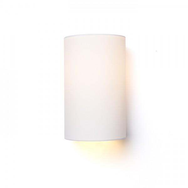 RON W 15/25 nástenná  Polycotton biela/biele PVC 230V E27 28W