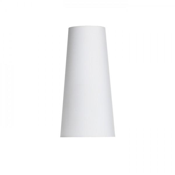 CONNY 15/30 stolné tienidlo  Polycotton biela/biele PVC  max. 23W