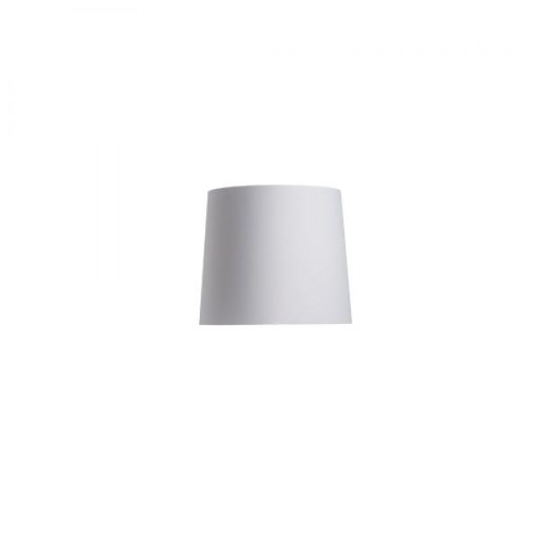 CONNY 35/30 stojanové tienidlo  Polycotton biela/biele PVC  max. 23W