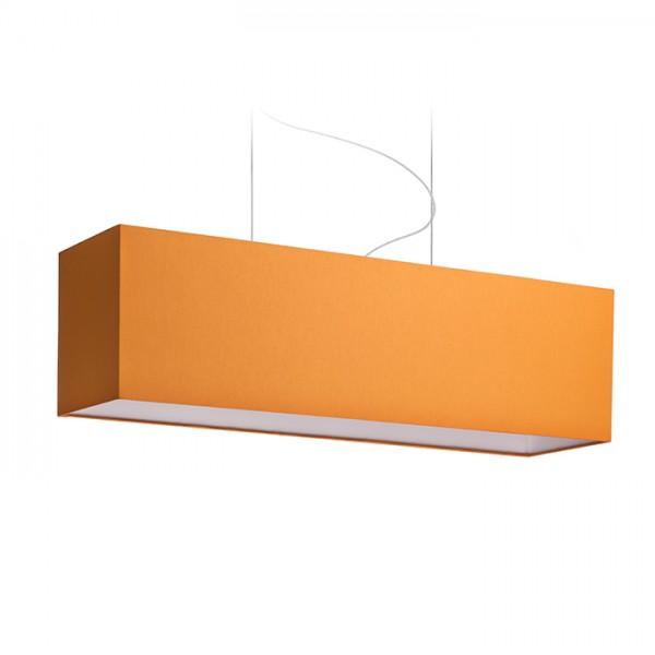 LOPE 80/23 tienidlo  Chintz oranžová/biele PVC  max. 23W