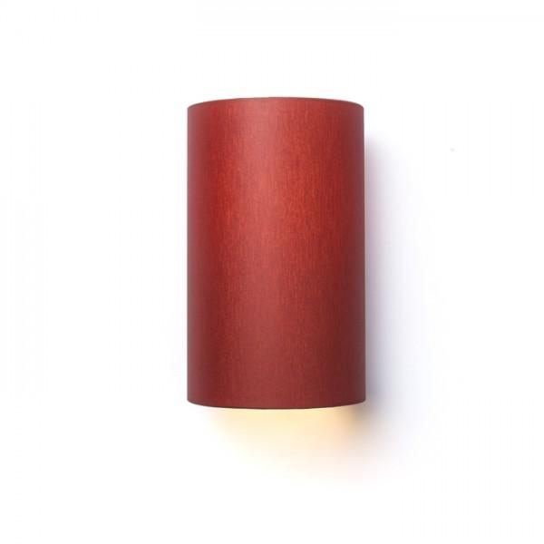 RON W 15/25 nástenná  Chintz terakota/biele PVC 230V E27 28W