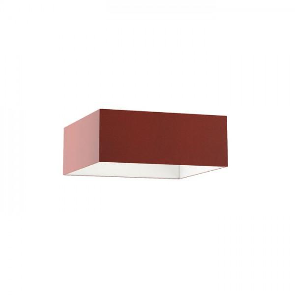TEMPO 50/19 tienidlo  Chintz terakota/biele PVC  max. 23W