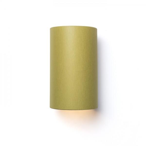 RON W 15/25 nástenná  Chintz olivová/strieborná fólia 230V E27 28W