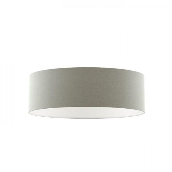 RON 60/19 tienidlo  Chintz svetlo sivá/biele PVC  max. 23W