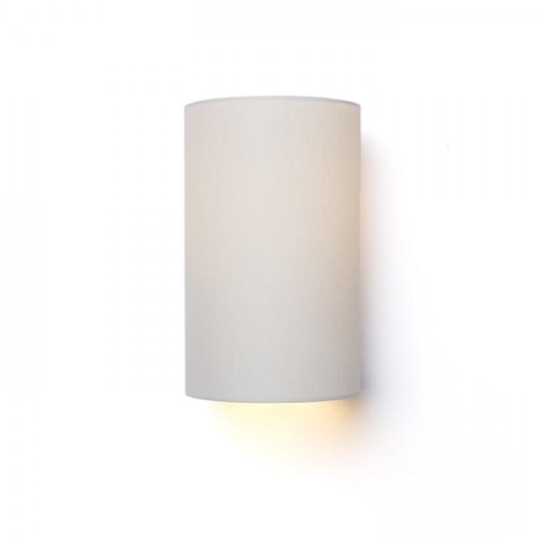 RON W 15/25 nástenná  Chintz svetlo sivá/biele PVC 230V E27 28W