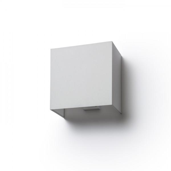 LOPE W 25/14 nástenná  Chintz svetlo sivá/biele PVC 230V E27 28W