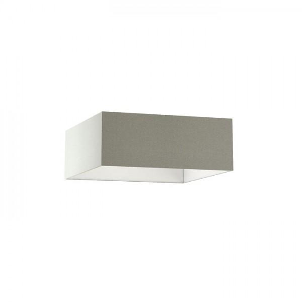 TEMPO 50/19 tienidlo  Chintz svetlo sivá/biele PVC  max. 23W