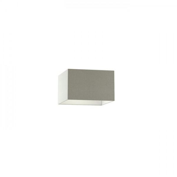 TEMPO 30/19 tienidlo  Chintz svetlo sivá/biele PVC  max. 23W