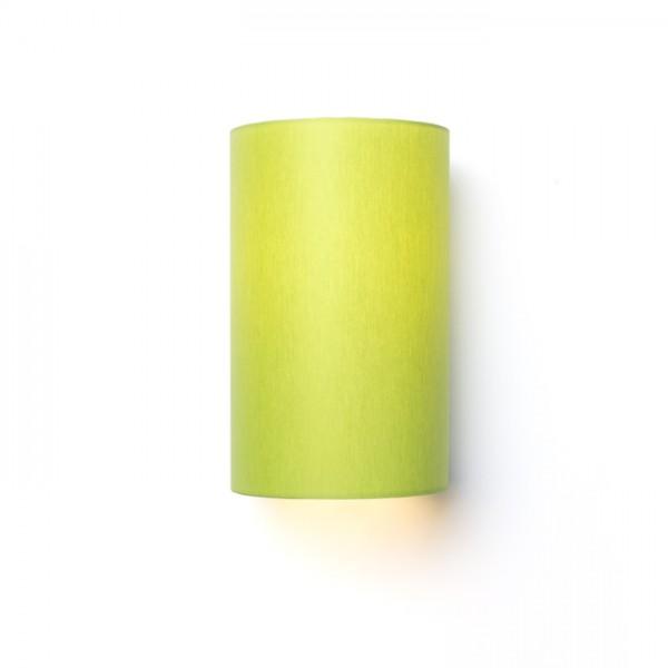 RON W 15/25 nástenná  Chintz limetková/biele PVC 230V E27 28W