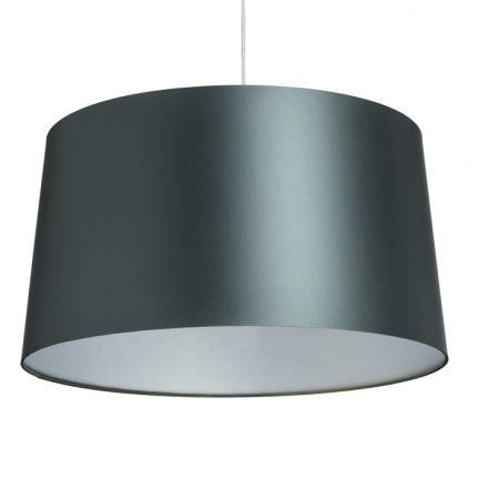 RENDL shades and accessories, bases, pendent sets ASPRO 55/30 shade Monaco petrol blue/silver PVC max. 23W R11577 1
