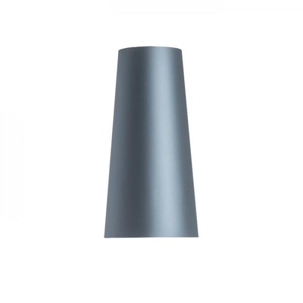 CONNY 15/30 stolné tienidlo  Monaco petrolejová/strieborné PVC  max. 23W