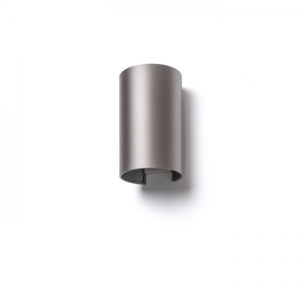 RON W 15/25 nástenná  Monaco holubia sivá/strieborné PVC 230V E27 28W