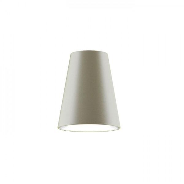 CONNY 25/30 stolné tienidlo  Monaco holubia sivá/strieborné PVC  max. 23W
