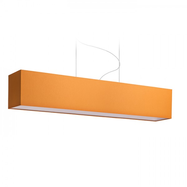RENDL LOPE 120/22 shade Chintz orange/white PVC max. 23W R11616 1